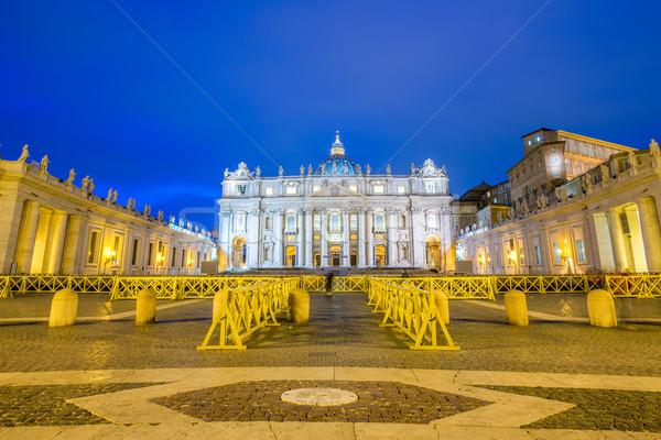 Catedral Roma Itália céu cidade Foto stock © Elnur