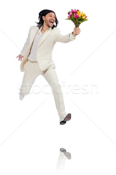 Fehér férfi randevú
