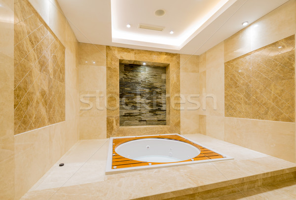 Bath tub in the modern interior Stock photo © Elnur