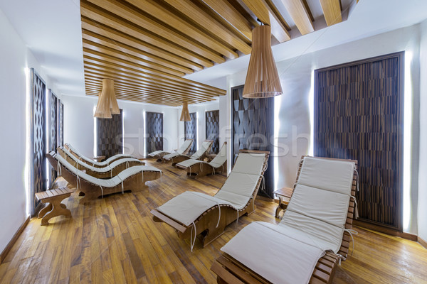 Spa room with many beds Stock photo © Elnur