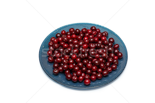 Cherries isolated on the white background Stock photo © Elnur