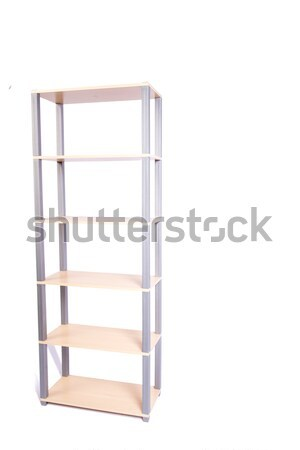 Office shelf isolated on the white background Stock photo © Elnur