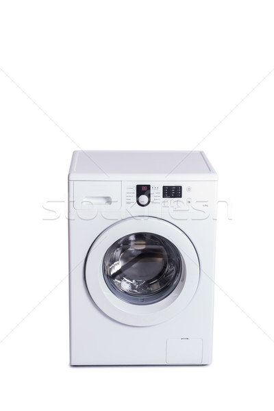 Washing machine isolated on white background Stock photo © Elnur