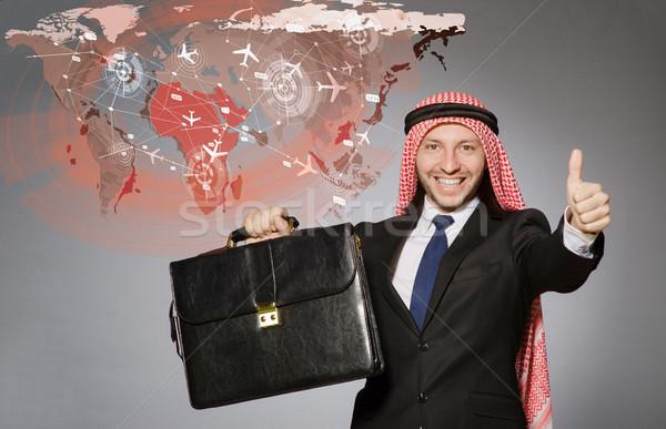 арабских человека аэропорту воздуха транспорт Сток-фото © Elnur