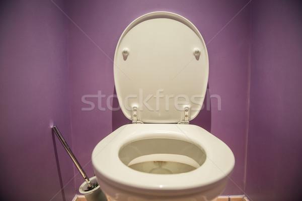 WC siedziba nowoczesne pokój projektu domu Zdjęcia stock © Elnur