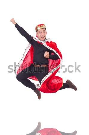 Meisje rode jurk dansen dans Rood ballet Stockfoto © Elnur