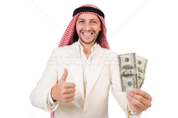 Arap adam çeşitlilik iş para işadamı Stok fotoğraf © Elnur