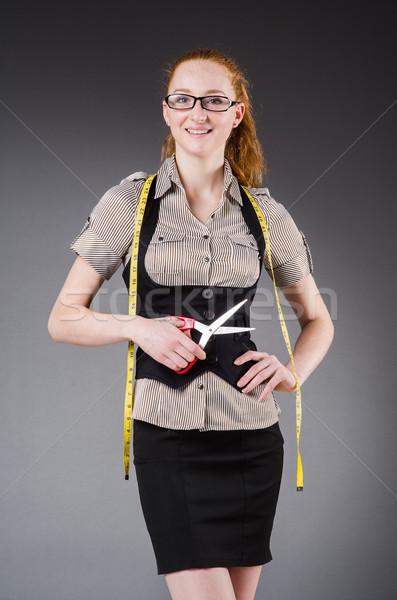 女性 テーラー 作業 新しい ドレス ファッション ストックフォト © Elnur