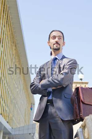 Arrested businessman in studio shooting Stock photo © Elnur
