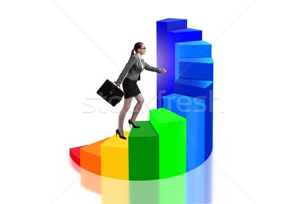 生涯 發展 樓梯 業務 彩虹 企業 商業照片 © Elnur