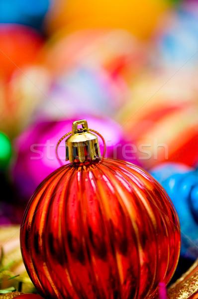 Natal decorações férias fundo espaço Foto stock © Elnur