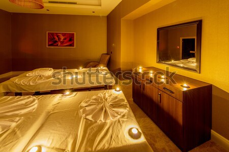 Hotel room with modern interior Stock photo © Elnur