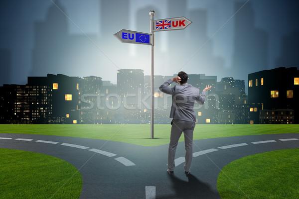 ビジネスマン eu ワーカー ユーロ ヨーロッパ 人 ストックフォト © Elnur