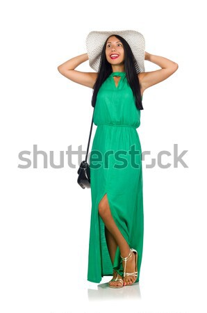 The nice woman model isolated on the white background Stock photo © Elnur