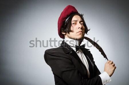 Hombre funny amor Foto stock © Elnur