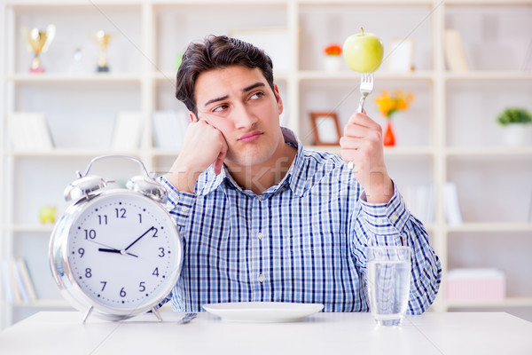 Concept of slow service in the restaurant Stock photo © Elnur