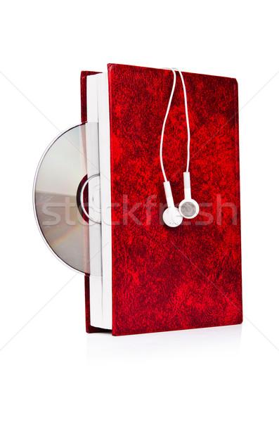 オーディオ 図書 イヤホン 白 音楽 技術 ストックフォト © Elnur
