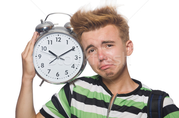 Student being late with his deadlines Stock photo © Elnur