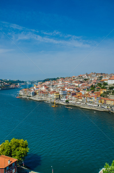 View of Porto city on summer day Stock photo © Elnur