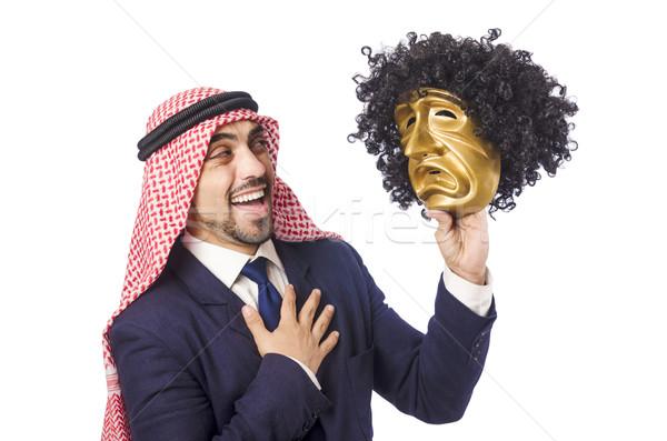 Arab man hypocrisy concept Stock photo © Elnur