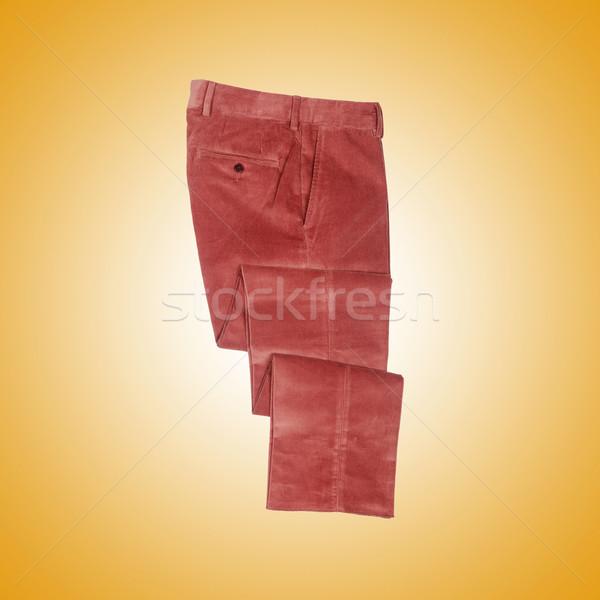 Mode broek helling achtergrond vrouwelijke moderne Stockfoto © Elnur