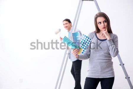 Family conflict with man and woman  Stock photo © Elnur