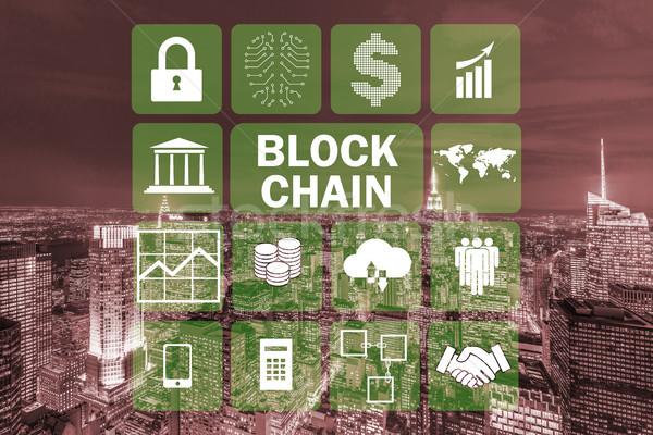 Banco de dados gestão mundo tecnologia financiar comunicação Foto stock © Elnur