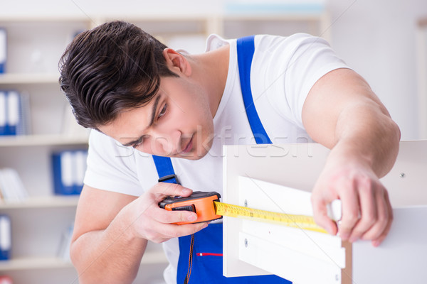 Furniture repair and assembly concept Stock photo © Elnur