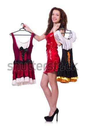 Female dancer dancing spanish dances Stock photo © Elnur