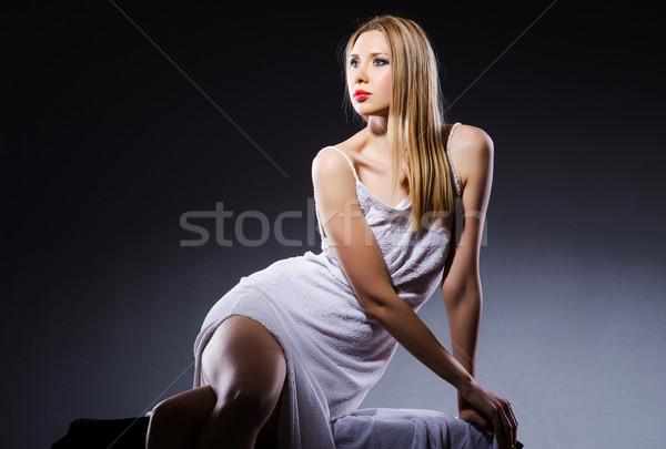 Woman in beauty concept - studio shooting Stock photo © Elnur