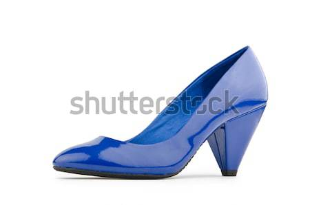 Stylish woman shoes on white in fashion concept Stock photo © Elnur