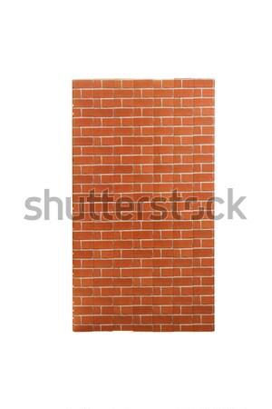 Ready made tile imitating brick wall Stock photo © Elnur