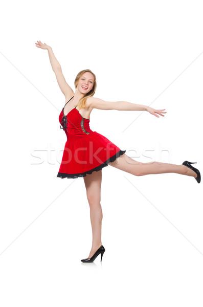 Mulher moda roupa menina modelo dança Foto stock © Elnur