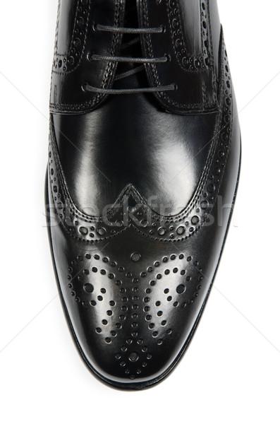先端 男性 靴 孤立した 白 ファッション ストックフォト © Elnur