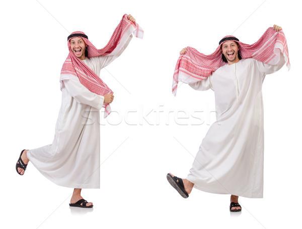 Arab man geïsoleerd witte business achtergrond Stockfoto © Elnur