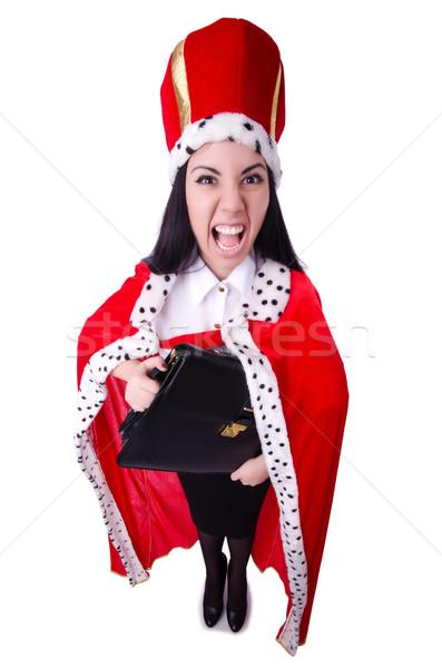 Rainha empresária negócio trabalhar empresário executivo Foto stock © Elnur