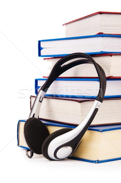 De audio libros blanco música tecnología Foto stock © Elnur