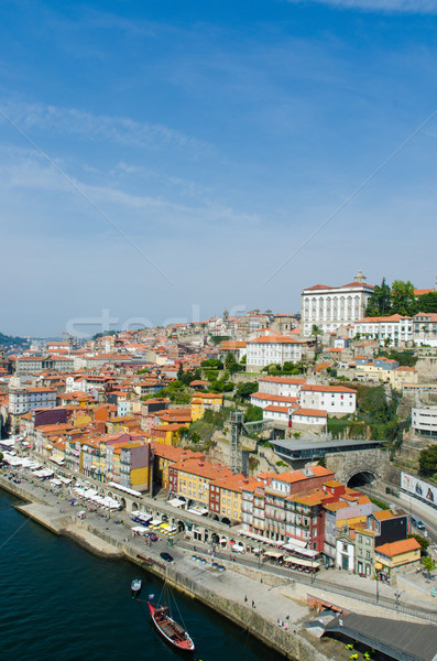 Scenic view of Porto city Stock photo © Elnur