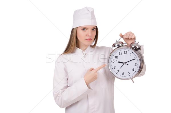 женщину врач отсутствующий Сроки медицинской фон Сток-фото © Elnur