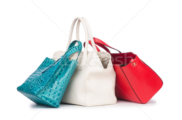 Woman bag isolated on the white Stock photo © Elnur