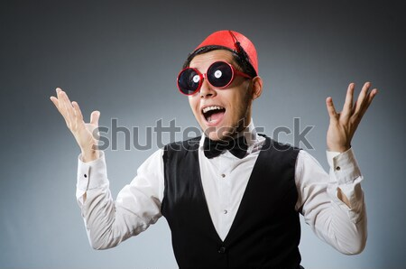 Man wearing nun clothing in funny concept Stock photo © Elnur