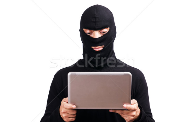 Hacker computer laptop toetsenbord notebook Stockfoto © Elnur