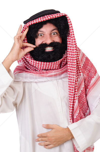 Arab man in diversity concept Stock photo © Elnur