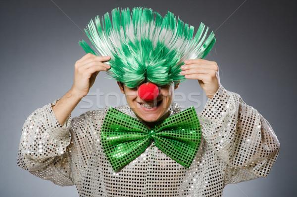 Drôle homme coiffure fête heureux triste Photo stock © Elnur