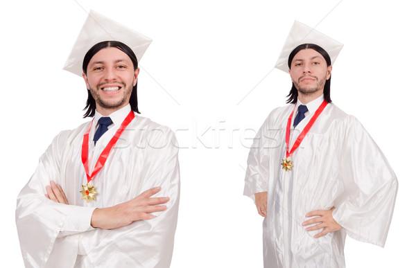 若い男 準備 大学 卒業 紙 学生 ストックフォト © Elnur