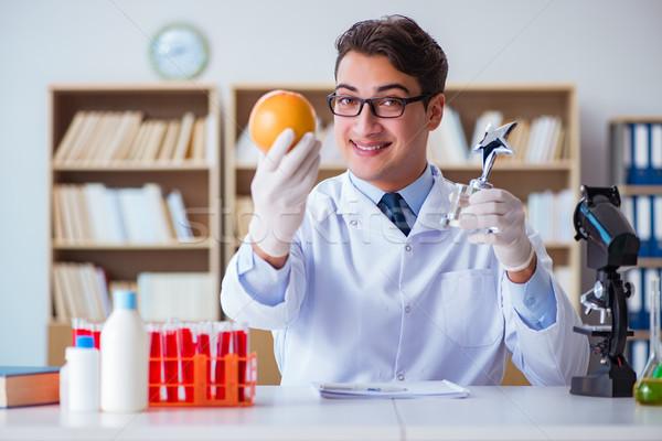 Arts wetenschapper prijs onderzoek ontdekking medische Stockfoto © Elnur