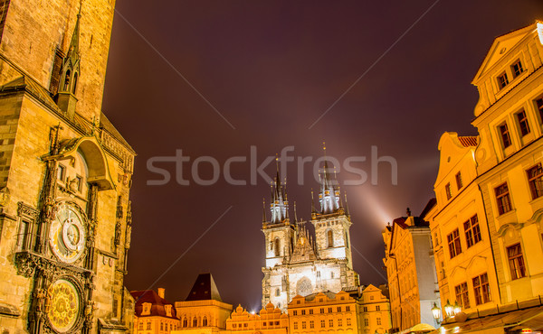 Vieille ville carré Prague ciel ville Photo stock © Elnur
