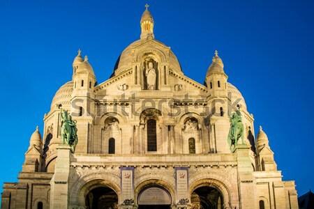 Basilique du Sacre Coeur in Paris France Stock photo © Elnur