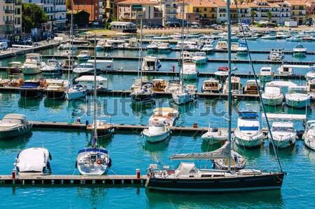 Portu wiele lata dzień miasta sportu Zdjęcia stock © Elnur