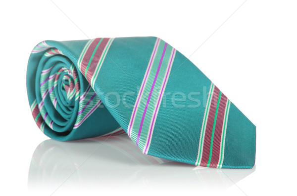 элегантный шелковые мужчины галстук белый Сток-фото © Elnur